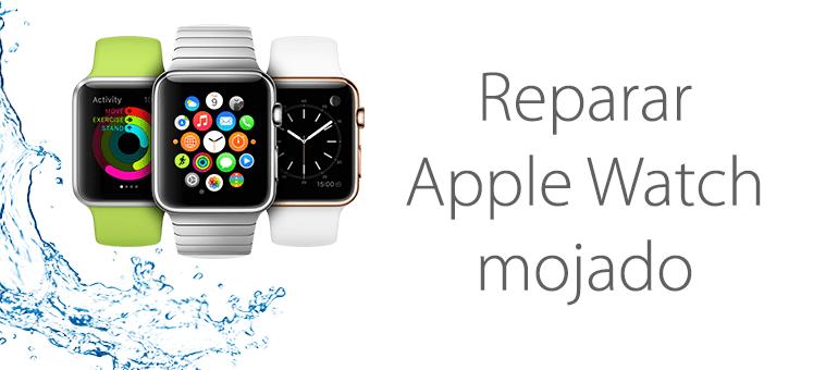 reparacion apple watch mojado
