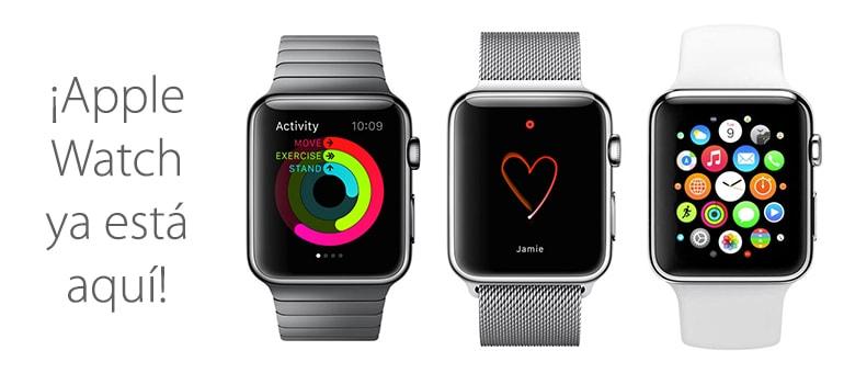 apple watch lanzamiento