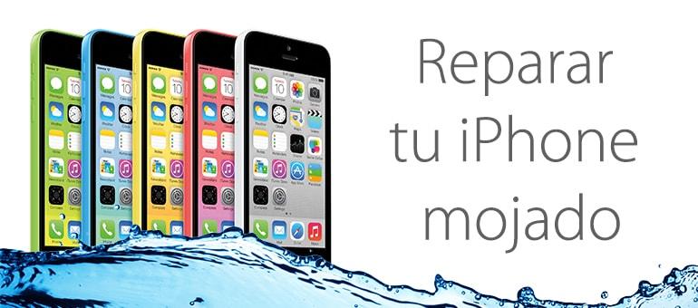 Arreglar iPhone mojado en Madrid con iFixRapid