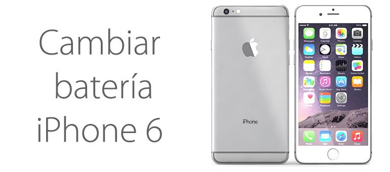 cambio de bateria iphone 6