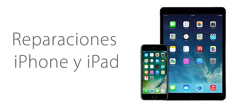 reparar iphone o ipad en alicante