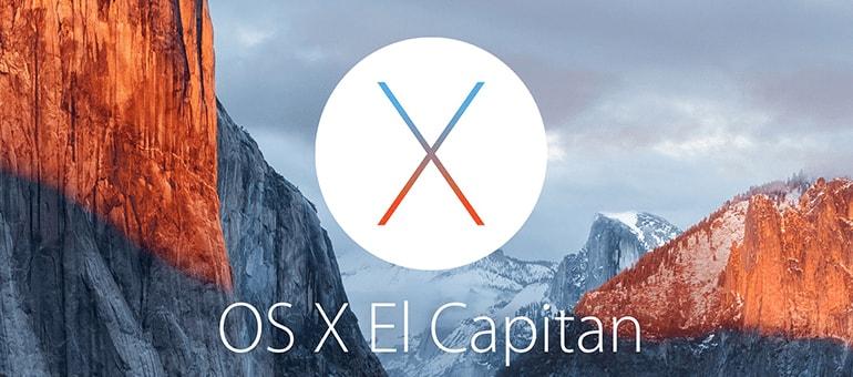 el capitan sistema operativo OS X