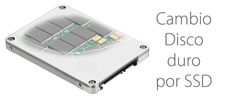 Mejora la velocidad de tu Mac con un cambio de disco duro por SSD