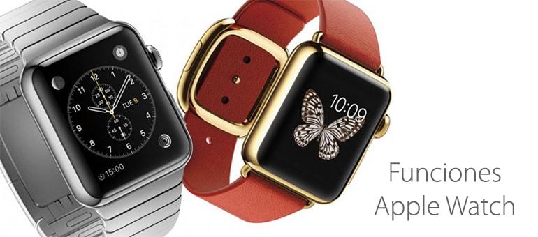 reparar apple watch funciones