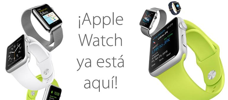apple watch lanzamiento spain