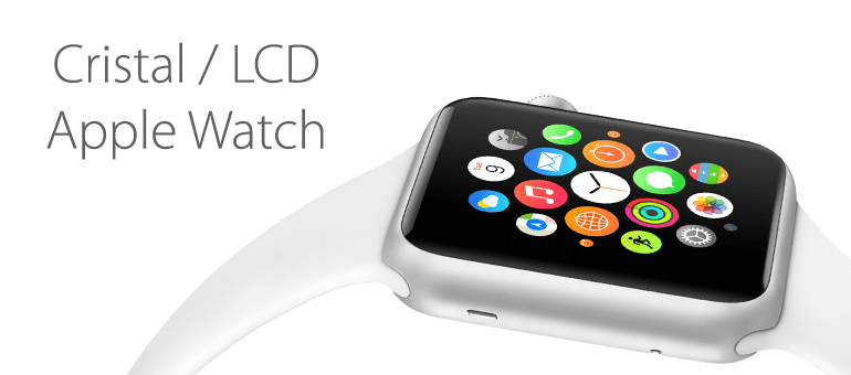Repara el cristal roto de Apple Watch