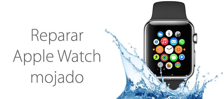Repara tu Apple Watch mojado