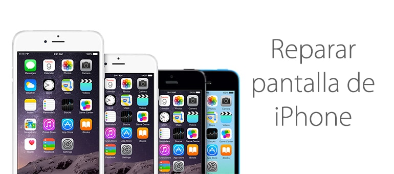 reparar lcd iphone 6 pantalla