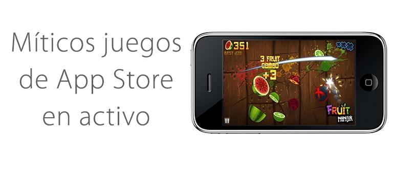 Juegos de tu primer iPhone a los que puedes seguir jugando