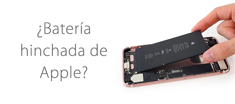 Batería hinchada: solución para dispositivos Apple