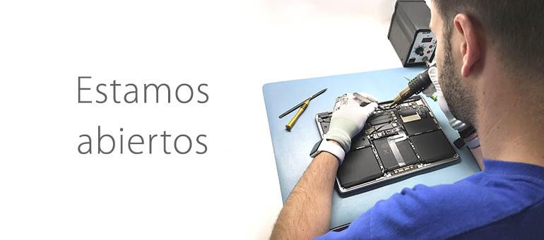 Repara tu dispositivo Apple durante el estado de alarma