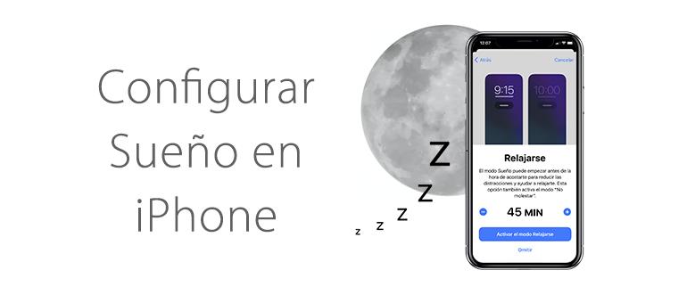 Como monitorizar el sueno con iPhone en iOS 14