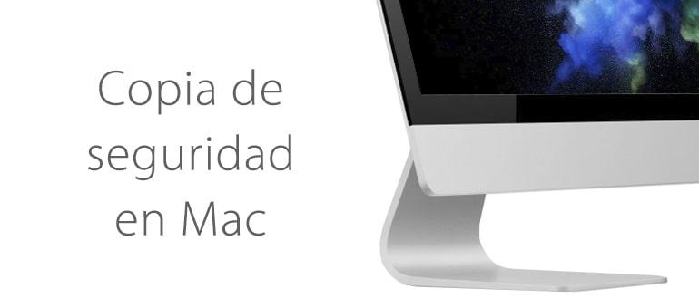 como hacer copia seguridad mac
