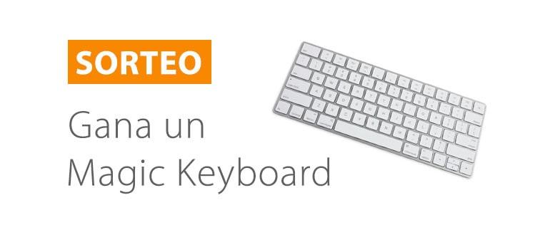 sorteo apple magic keyboard