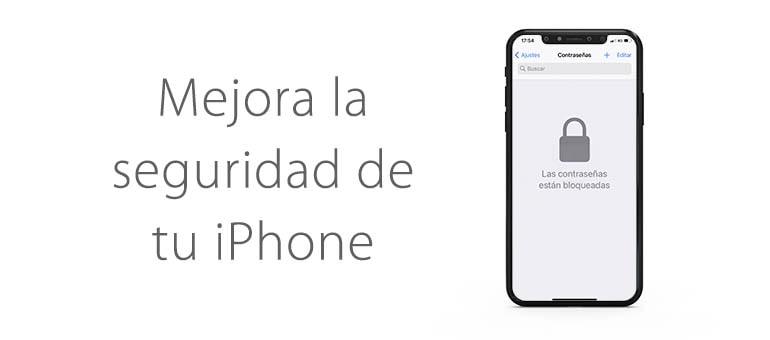 mejorar seguridad iphone
