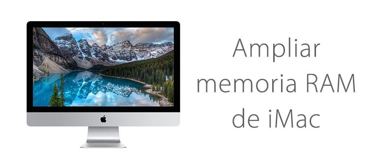 Aumentar la memoria RAM de iMac en Servicio Técnico ifixrapid apple