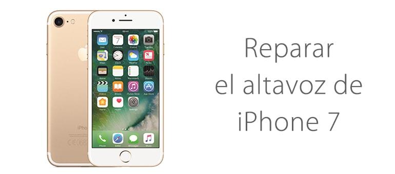 Cambiar altavoz de iPhone 7 si no suena ifixrapid