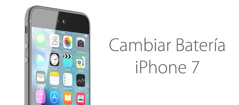 cambiar bateria iphone 7 servicio tecnico apple