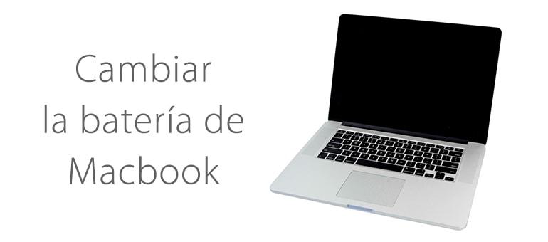 Cambiar batería Macbook Pro ifixrapid servicio tecnico apple