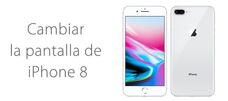 Cambiar la pantalla rota iPhone 8 en iFixRapid