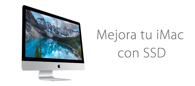 Cambio de disco duro por SSD para mejorar la velocidad de iMac ifixrapid