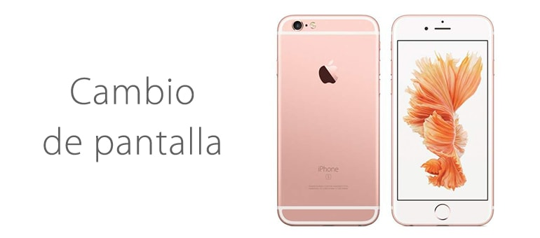 Cambio de pantalla para iPhone 6s sin cita previa en ifixrapid