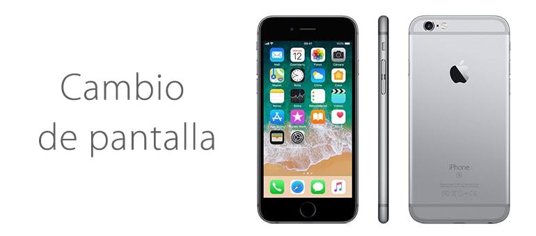 Cambiar el cristal roto de iPhone 6s en iFixRapid