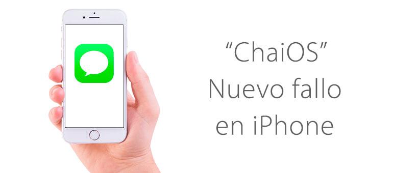 iphone bloqueado virus imessage chaios servicio tecnico apple ifixrapid