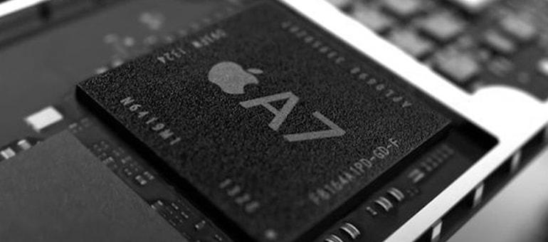 La potencia de iPhone 5s: El chip A7