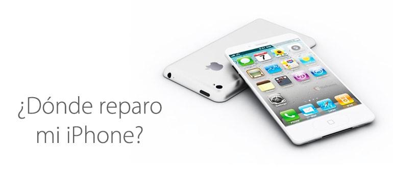 ¿Dónde reparar mi iPhone?