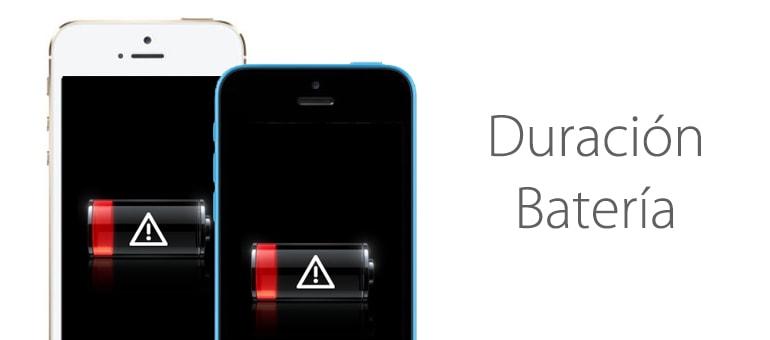 Consejos para cuidar la bateria del iPhone