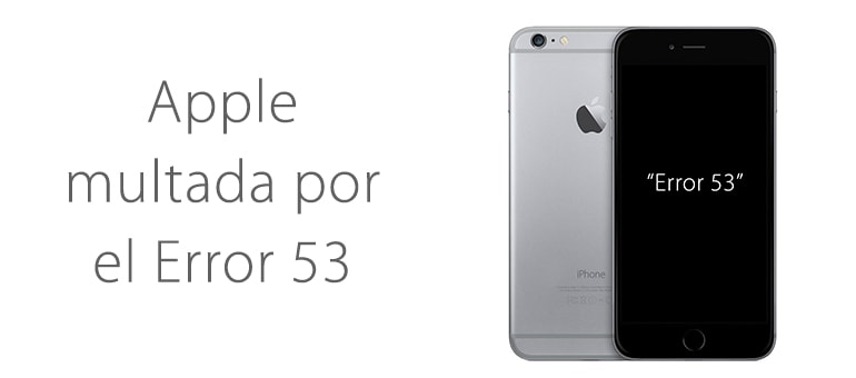Apple multada por engañar a clientes de iPhone y iPad