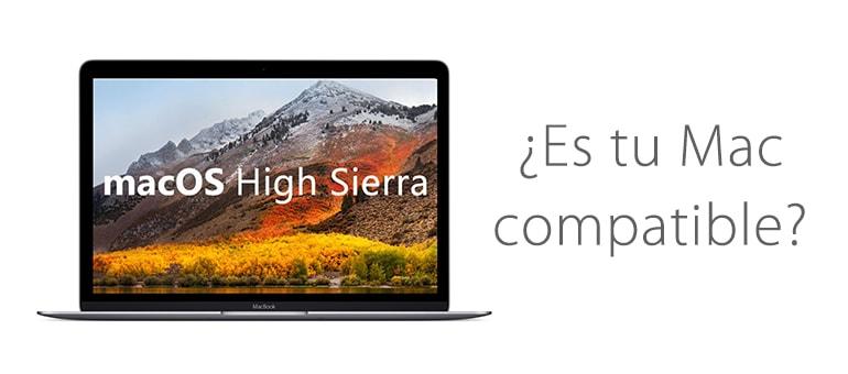 comprobar si mac es compatible con high sierra ifixrapid servicio tecnico apple