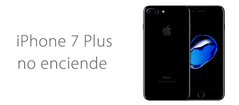 reparar iphone 7 pantalla negro no enciende