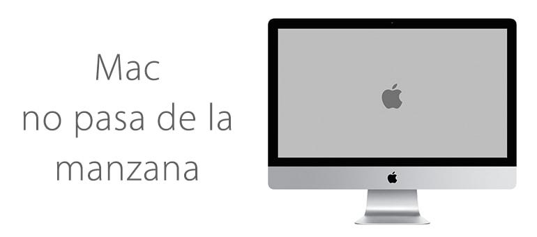 mac no pasa de la manzana servicio tecnico apple