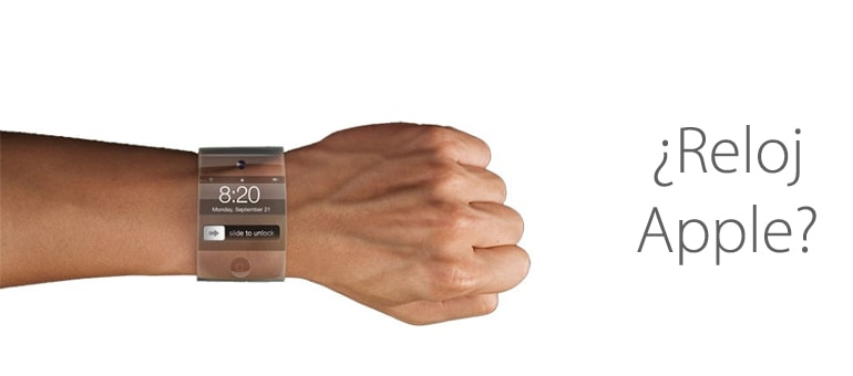 El posible reloj Apple