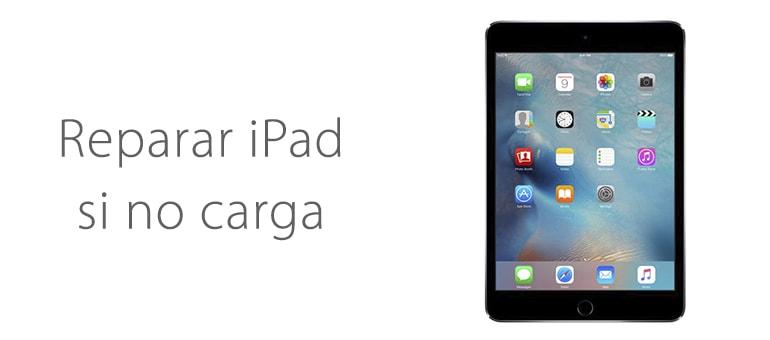 Cambiar batería de iPad si no carga correctamente