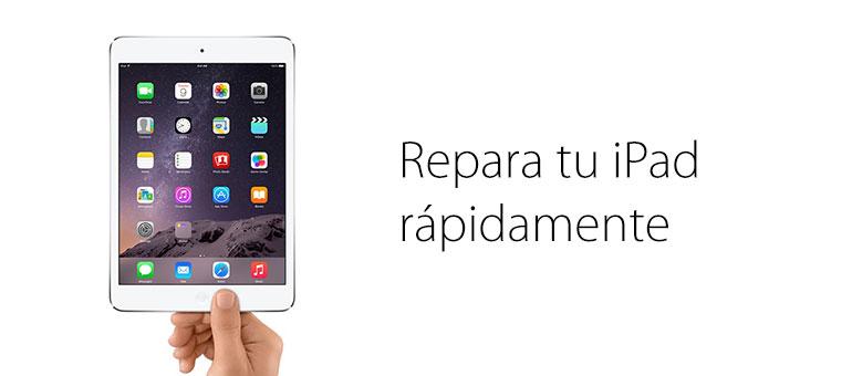 ¡Repara tu iPad roto ya!
