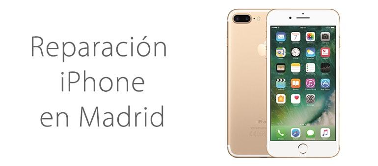 reparar iphone no se escucha en el centro de madrid