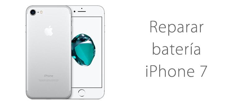 reparar bateria iPhone 7 no carga