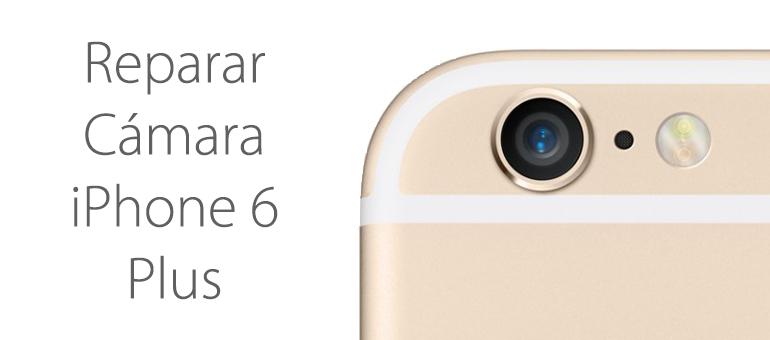 arreglar cristal camara iphone 6
