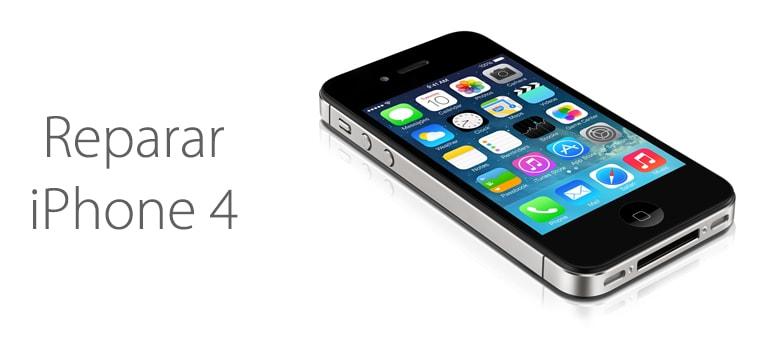 Repara tu iPhone 4 o iPhone 4S.