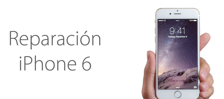 ¿Arreglar mi iPhone 6 en Madrid?