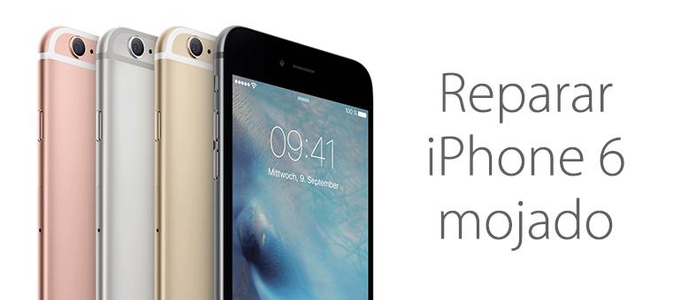 Reparar iPhone 6 mojado en Servicio Técnico iFixRapid
