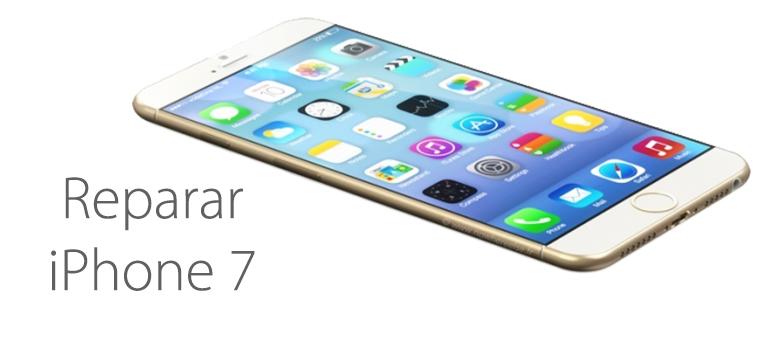 reparar boton home iphone 7 roto
