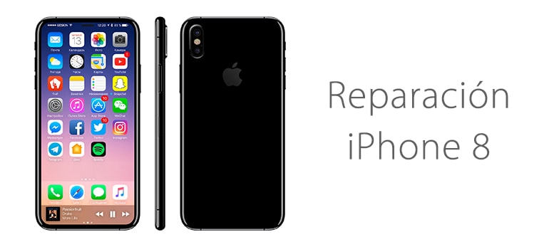 reparar iphone 8 roto ifixrapid servicio tecnico apple