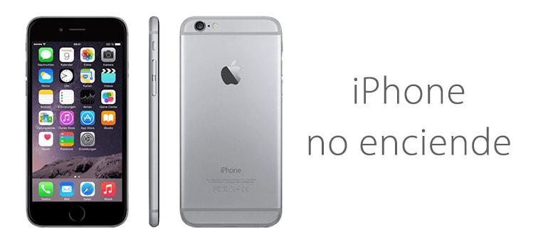 Solucion para iPhone 6 que no enciende