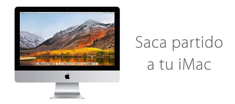 Mejora tu iMac con un SSD y ampliación de RAM