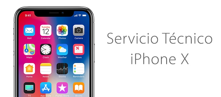 reparar iphone x roto servicio tecnico apple