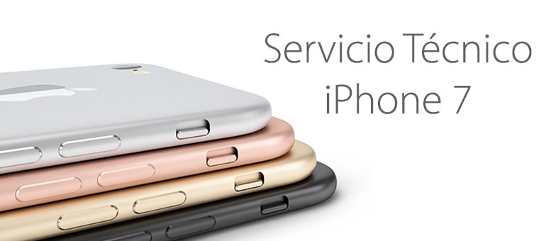 servicio tecnico iphone 7 madrid